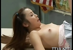 Hottie bow over and screwed