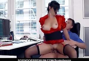BUMS BUERO - Raunchy secretary banged apart from boss in the office