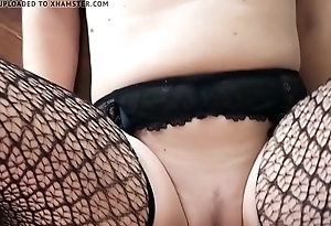 Milf household flashing with a fucking happy end