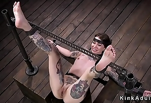 Alt shaved pussy unilluminated gets whipped