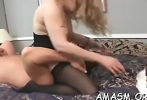 Atm porn with breasty sweeping
