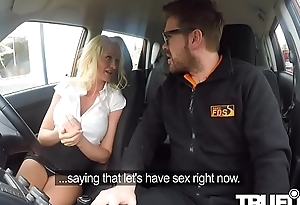 Cindy Sun In Horny car sexual relations for busty blonde MILF