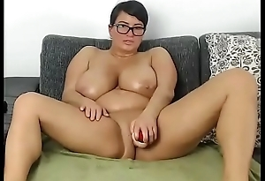 Busty chubby milf toying pussy for cumming free personify