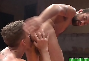Spanked wrestling jock cocksucks and jerks