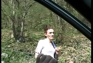 A woman unequalled in the country, attacked and fucked by a maniac