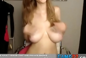 beautiful young  blonde with perfect body (REALLY) having full-grown fun online
