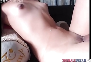 Michell Doll Full Cam Show and Cumshot - ShemaleDreamCams.com